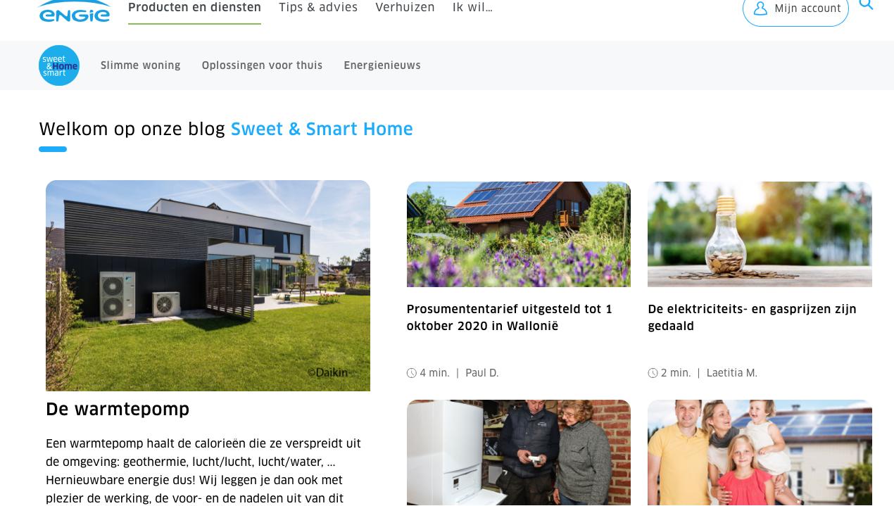 Blog Sweet & Smart